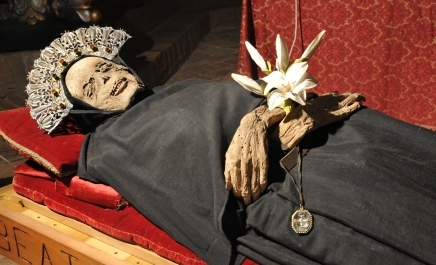 mummified remains from Italy