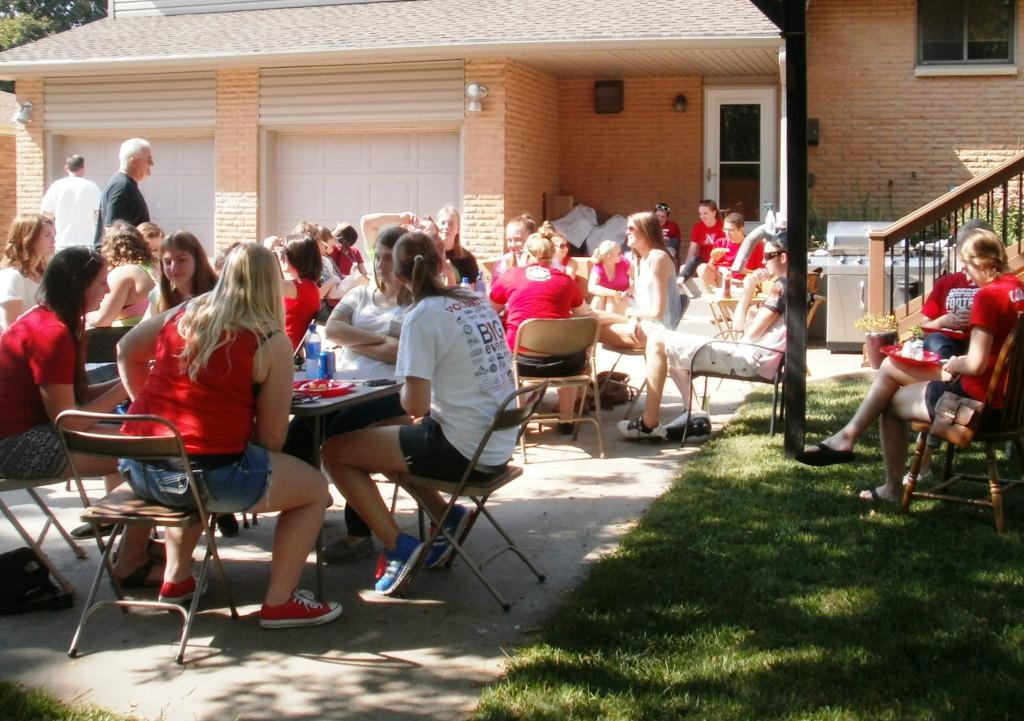 UNL Forensic Science - Welcome Picnic 2014