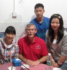 UNL Forensic Science - Fred in China