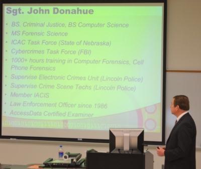 UNL Forensic Science - John Donahue