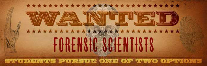 Forensic Science Banner